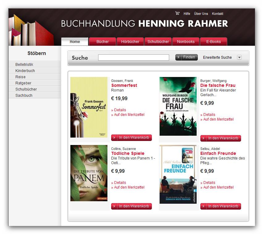 Buchtipp: »Buchhandlung Rahmer in Henstedt-Ulzburg«